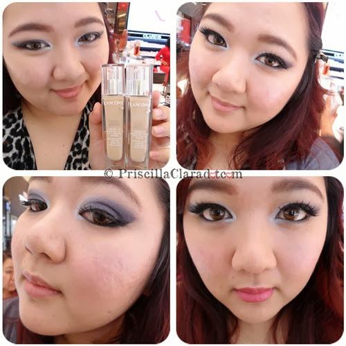Priscilla Makeup Contest Lancome Alber Elbaz face