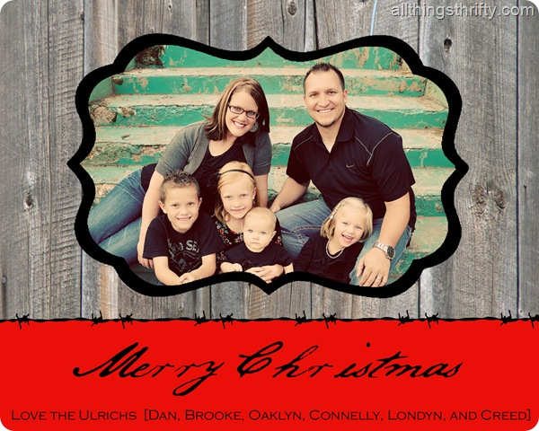 Holiday Card 2011 for Costco