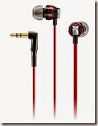 Sennheiser Red In Ear Headphones