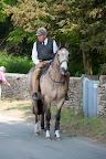 Brian Higham, previous head head groom and stable manager enjoying his retirement