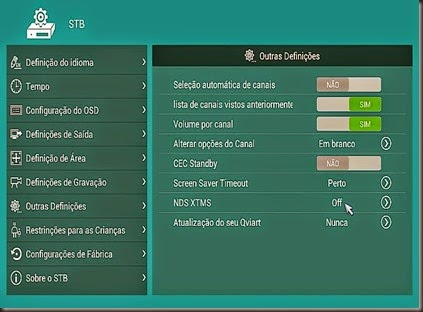 ndsxtms para 43W