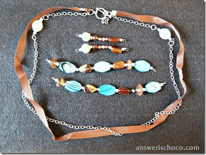 Blue Moon Beads Toffee and Turquoise 2