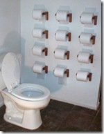 papel higienico parede via otthonkommando