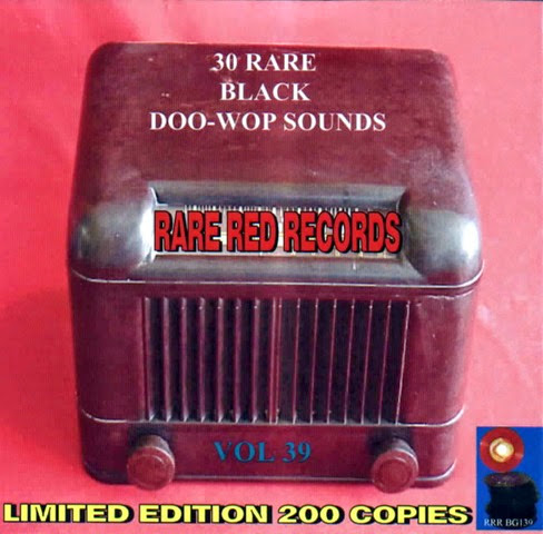 Rare Black Doo-Wop Sounds Vol. 39 - 31 - Front