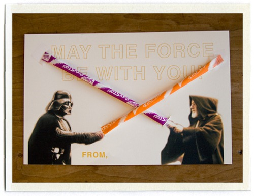 Star Wars Pixie Stix Valentine from Inchmark