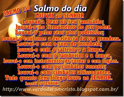 SALMO DO DIA 150