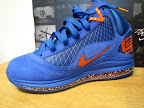 nike air max lebron 7 pe hardwood royal 4 05 Yet Another Hardwood Classic / New York Knicks Nike LeBron VII