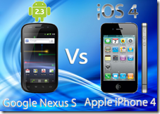 Nexus S vs iPhone