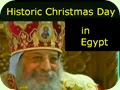 Historic Christmas Day in Egypt