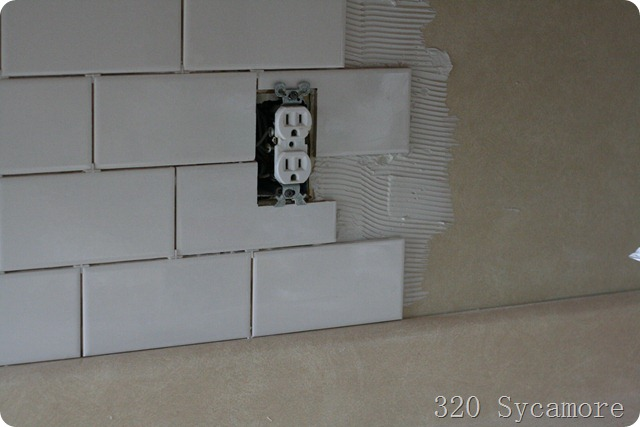 how to install diy subway tile backsplash 320 sycamore