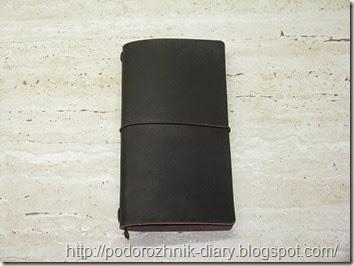 Midori тетрадка с книжной сшивкой