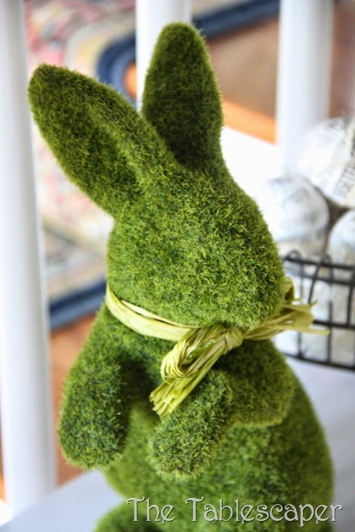 Moss bunny - The Tablescaper3
