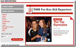 Time for Kids - Great Website for Integrating Language Arts and Social Studies, while teaching current events too.