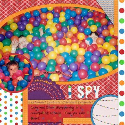 Romajo - Balloons and Celebrations - I spy