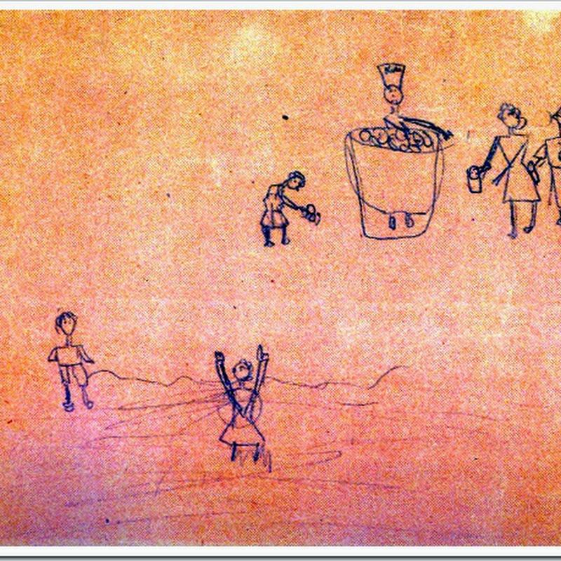 As crianças que viveram e desenharam o Holocausto