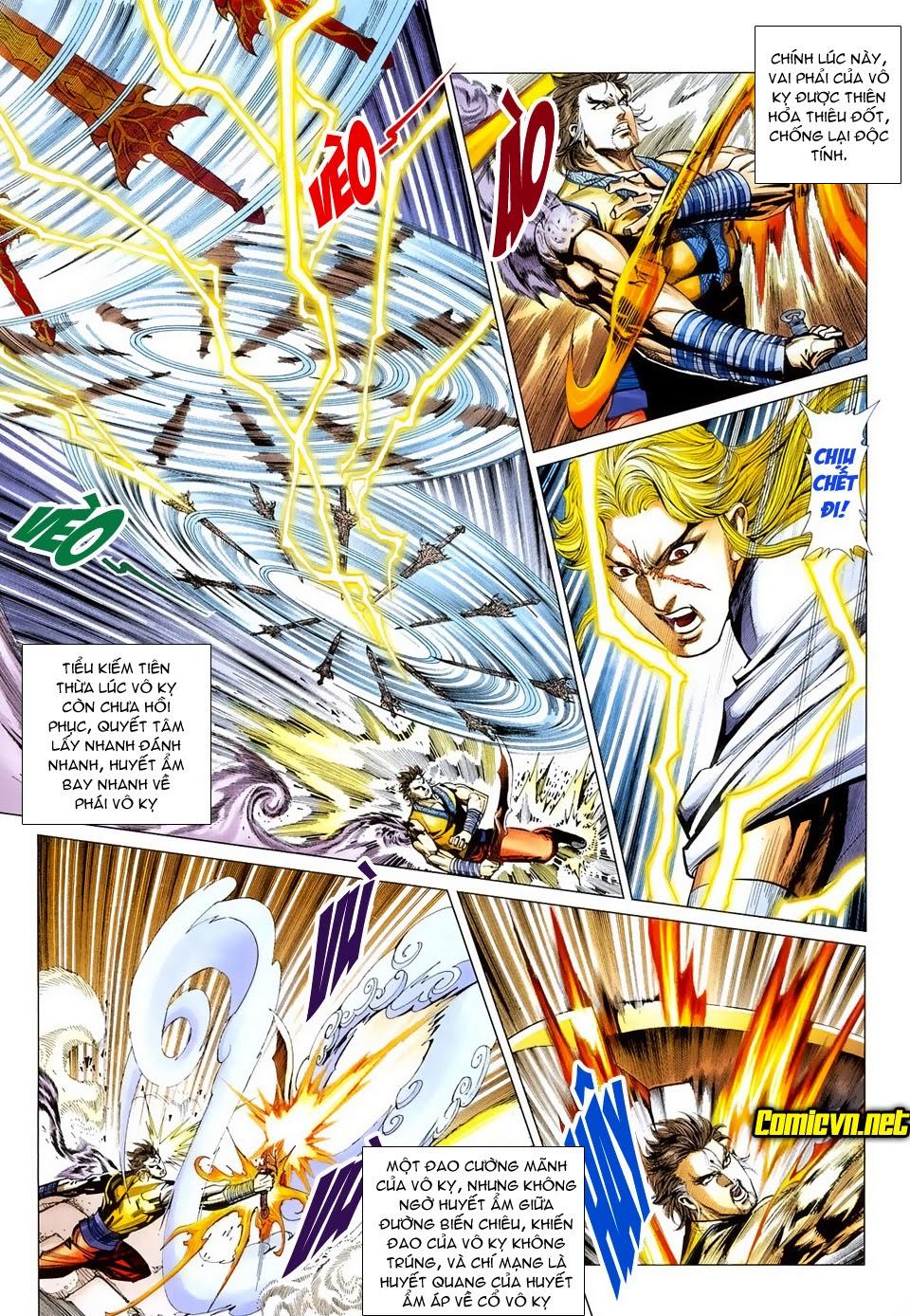 Thiên Hạ Vô Địch Tiểu Kiếm Tiên chap 31 - Trang 8