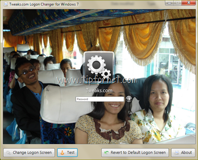 เปลียน background login ใน windows 7
