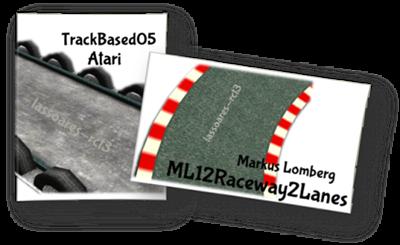 Track Ride TrackBased05 (Atari) ML12Raceway2Lanes (Markus Lomberg) lassoares-rct3