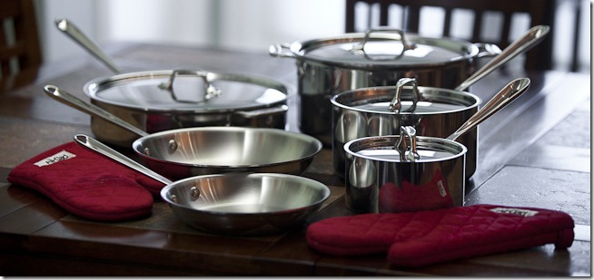 All-Clad Stainles Steel Pots and Pans