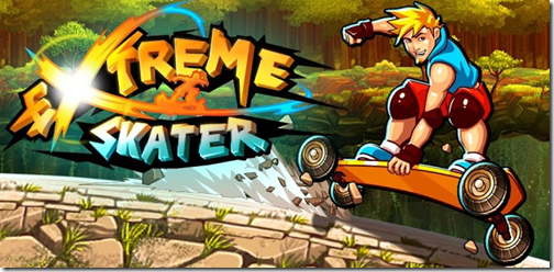 Extreme Skater is not only a great controlling game, but a great looking one.