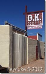 Tombstone AZ OK Corral