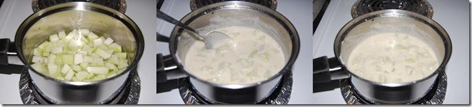 Chow chow mor kootu process