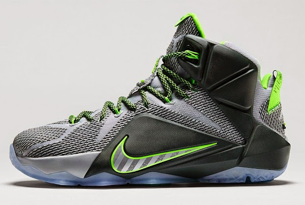Nike LeBron 12 8220Dunk Force8221 Official Look and Release Information