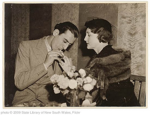 'Lighting cigarette, 1930s / Sam Hood' photo (c) 2009, State Library of New South Wales - license: http://www.flickr.com/commons/usage/