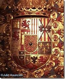 Escudo de los Borbones - Ayuntamiento de Pamplona