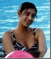 kasthuri in swim wear