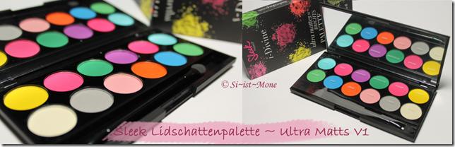 Sleek Palette-Ultra Matts V13