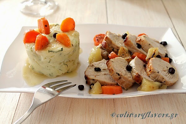 Turkey with Corinthian Raisins.JPG