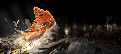 nike lebron 11 gr atomic orange 5 10 forging iron Official Unveiling of LEBRON 11 Forging Iron That Drops Next Month