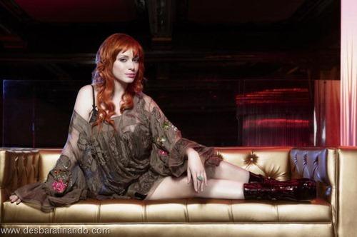 Christina Hendricks linda sensual sexy sedutora decote peito desbaratinando (30)
