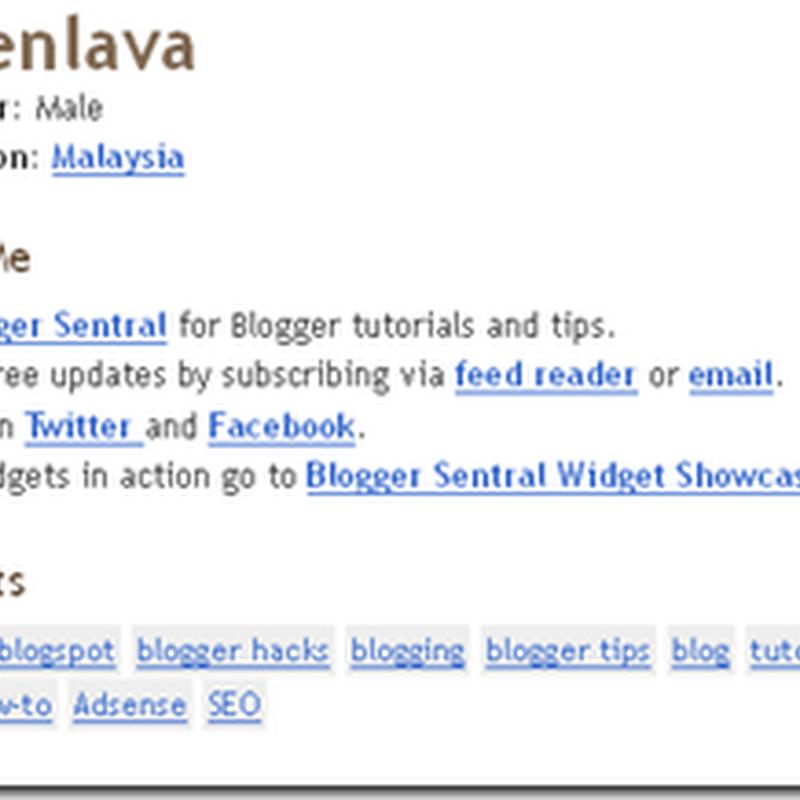 Blog Tutorial PILIHAN ..