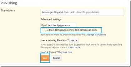 bigrock-subdomain-blogger-mapping-dont-redirect