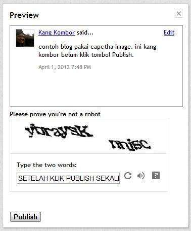 komentar blogspot dengan captcha image -