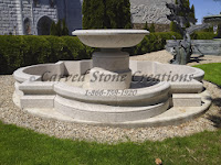 14' Quatrefoil Fountain Pool Surround, Giallo Fantasia R