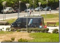 Vuelve a La Costa el móvil de la AFIP