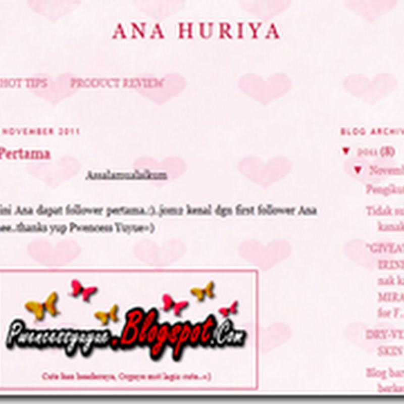 Blog Pilihan Ku dan mereka ..