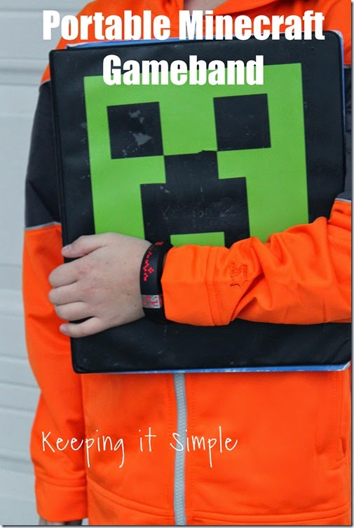 #ad Minecraft-gameband #GameontheGo