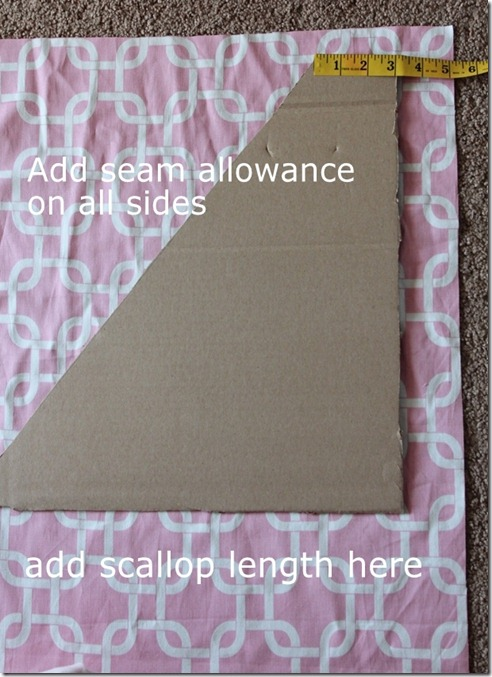 Seam Allowance and scallop