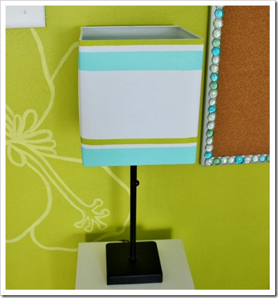 painted teen lampshade (964x1024). Turn the light on and …..ta-da!