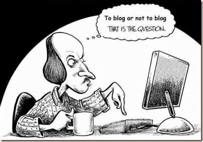 Shakespeare-ToBlogOrNotToBlog