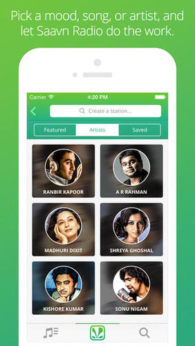 Saavn  Bollywood Music and Radio1