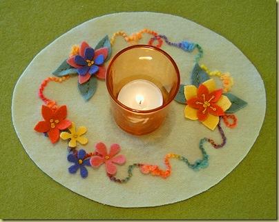 293_Freebie, Spring Candle Mat 2008