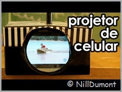 Projetor de celular