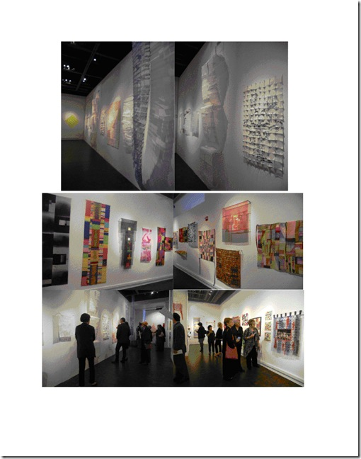 Homage to Klee at Opening Reception
