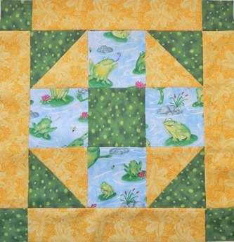 October Bee Block (900)