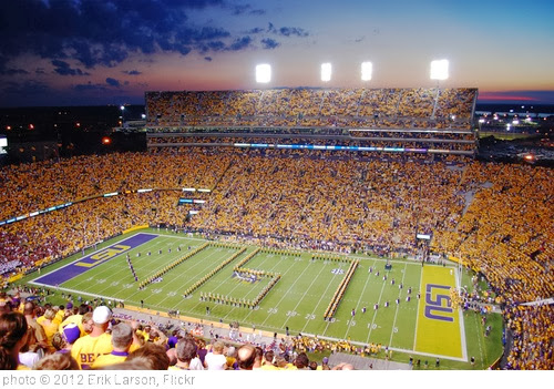 'LSU - The Band' photo (c) 2012, Erik Larson - license: http://creativecommons.org/licenses/by-nd/2.0/